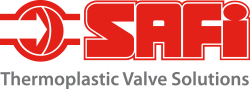 Logo SAFI, Thermoplastic Valve Solutions